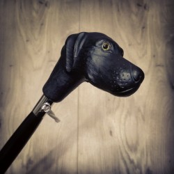 Calzascarpe - Cane Labrador nero