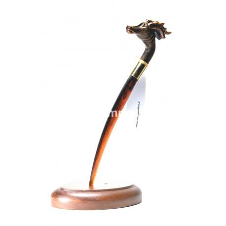 [:it]Tagliacarte - cane pointer - T006[:en]Letter opener - Pointer - T006[:]