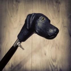 Calzascarpe - Cane Labrador nero accessorio moda per scarpe e stivali - fatto a mano in Italia BC_011NL