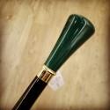 Bastone da passeggio - Milord verde malachite
