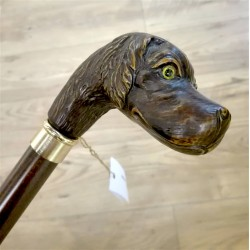 Walking stick - hunting dog - B024