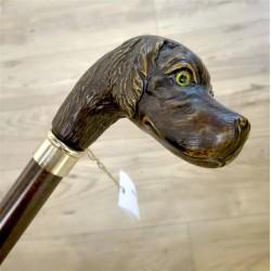 [:it]Bastone da passeggio - Cane da caccia - B024[:en]Walking stick - hunting dog - B024[:]