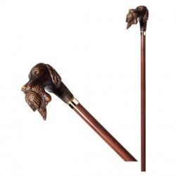 Bastone da passeggio Cane Caccia con Preda Walking stick BB_135