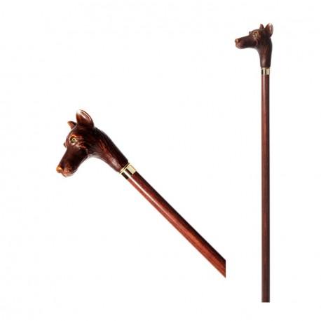 [:it]Bastone da passeggio - Levriero - B022[:en]Walking stick - greyhound - B022[:]
