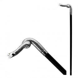 Bastone da passeggio - serpente vipera nk BB_225